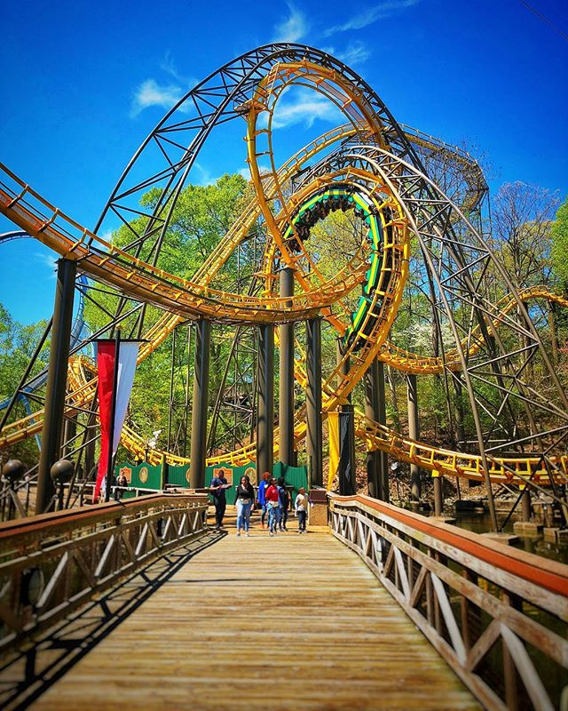 Are you a roller coaster person?  #CCLVirginia #buschgardens #buschgardenswilliamsburg #themepark #rollercoaster #virginia #757 #757collective #757creative #vaisforlovers #virginiaphotosandfilms  #skylove #skylovers #skyporn #raw_mod #raw_admin #raw_community_member #raw_community #raw_vip #raw_collage #city_features #raw_cityscapes_hdr #raw_colours #raw_bridges #raw_skies #raw_usa #raw_architecture #raw_mobile taken with iPhone X