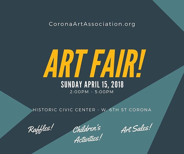 Today's the day! Come out and enjoy your Sunday surrounded by art, history, music, and friends!  #CoronaArts #ArtGallery #ArtAssociation #USAartsambassador