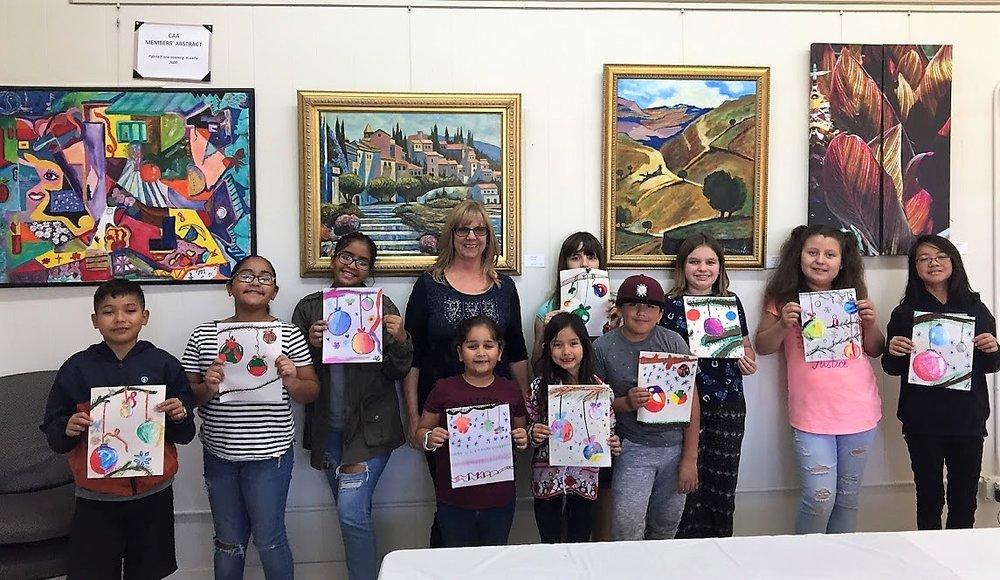 CAA Saturday Kids' Art class.JPG