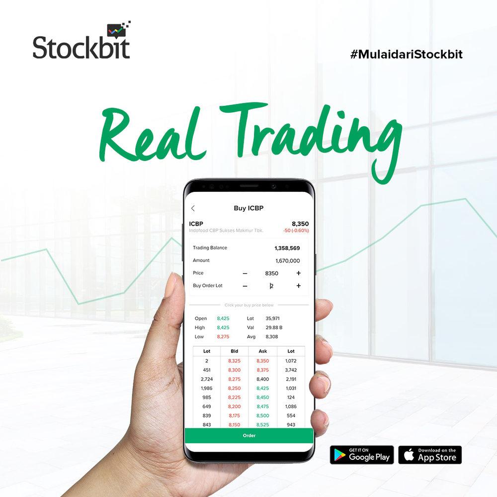 Stockbit Real Trading
