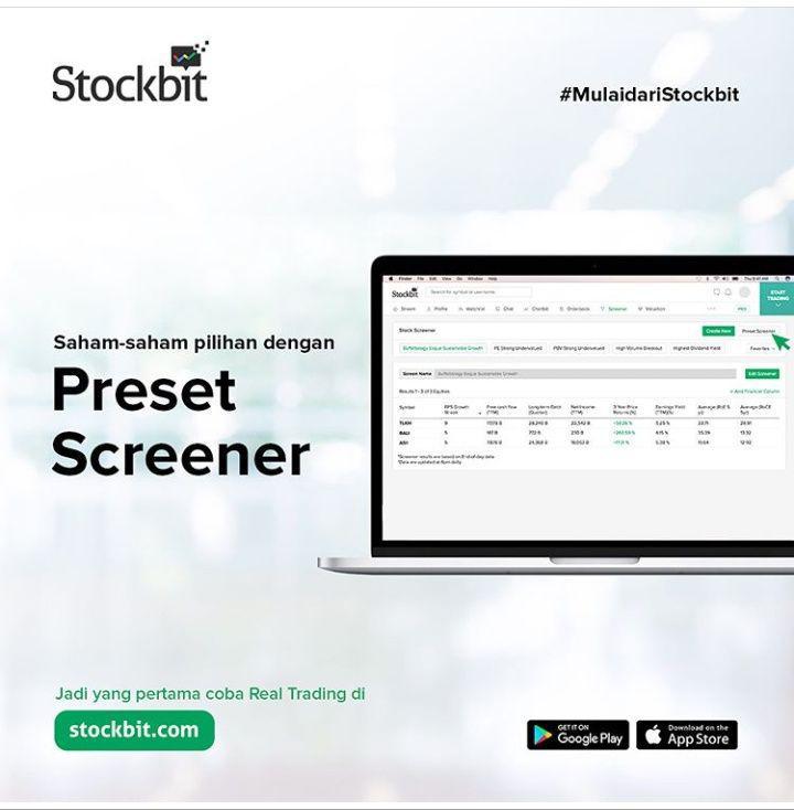 Stockbit Screener