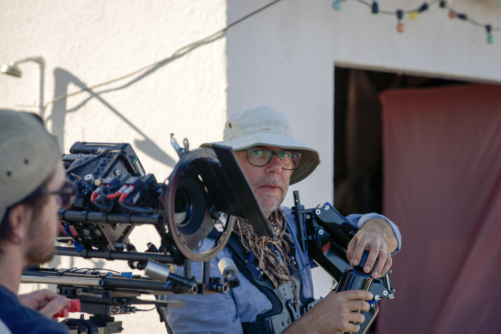 Director of Photography, Chris Vermaak.