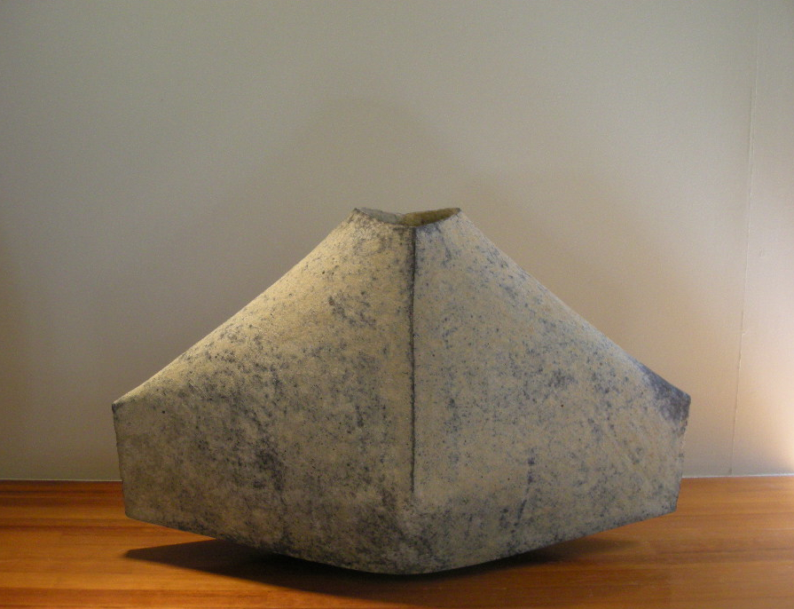 KEN MIHARA   Kigen (Genesis) #2 , 2008  multi-fired stoneware  28.5 x 72.5 x 43.5 cm