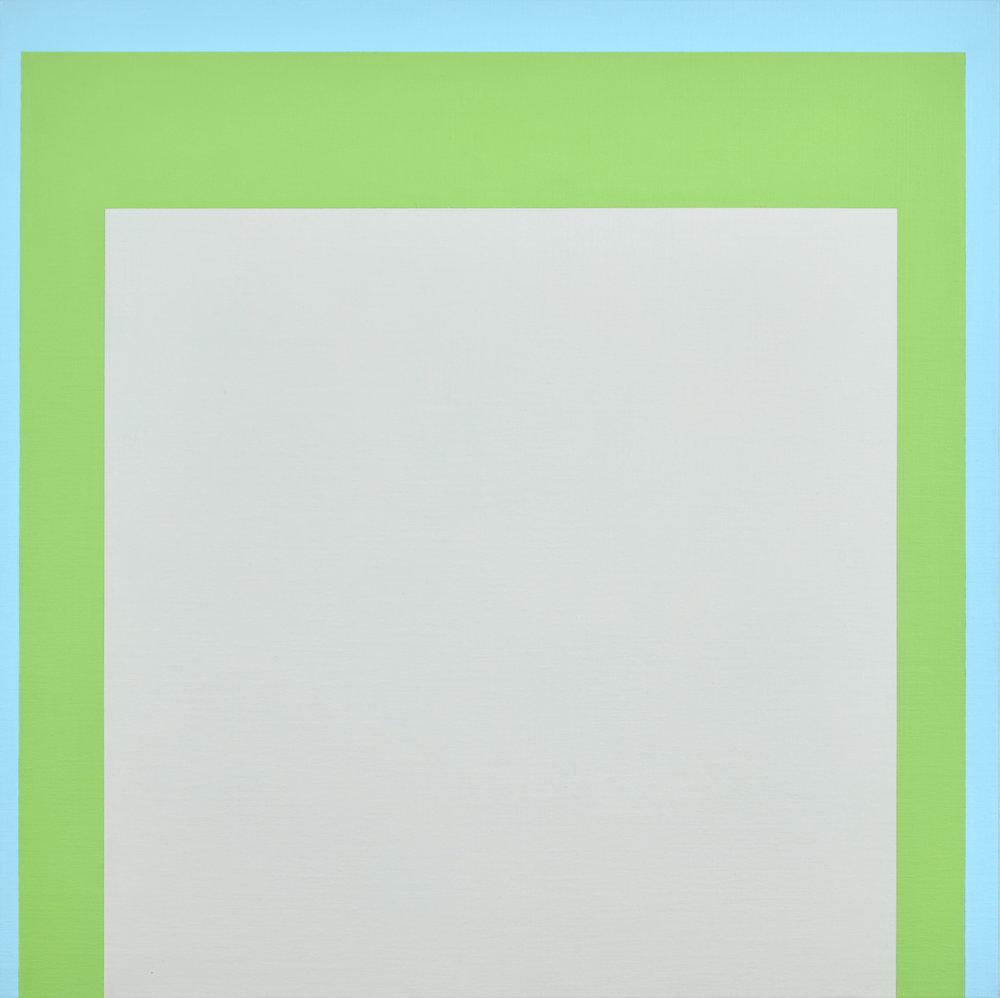 Open Air 4 , 2016  acrylic on Belgian linen  95 x 95 cm