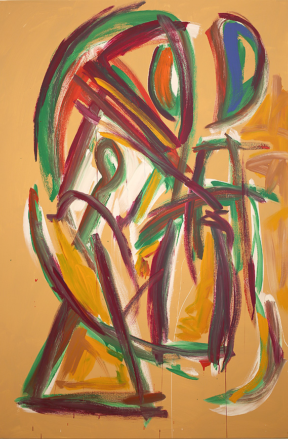 Oriental Strut , 2017  acrylic on canvas  183 x 122 cm