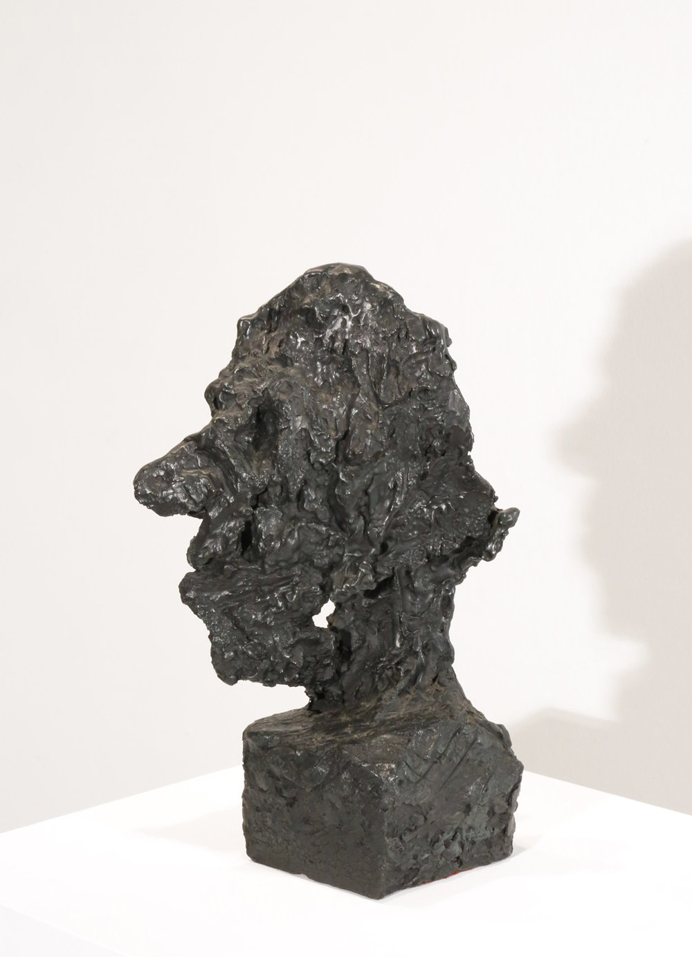 Kevin Connor   Head IV , 2000  bronze, edition 1 of 5  40.5 x 17 x 22 cm