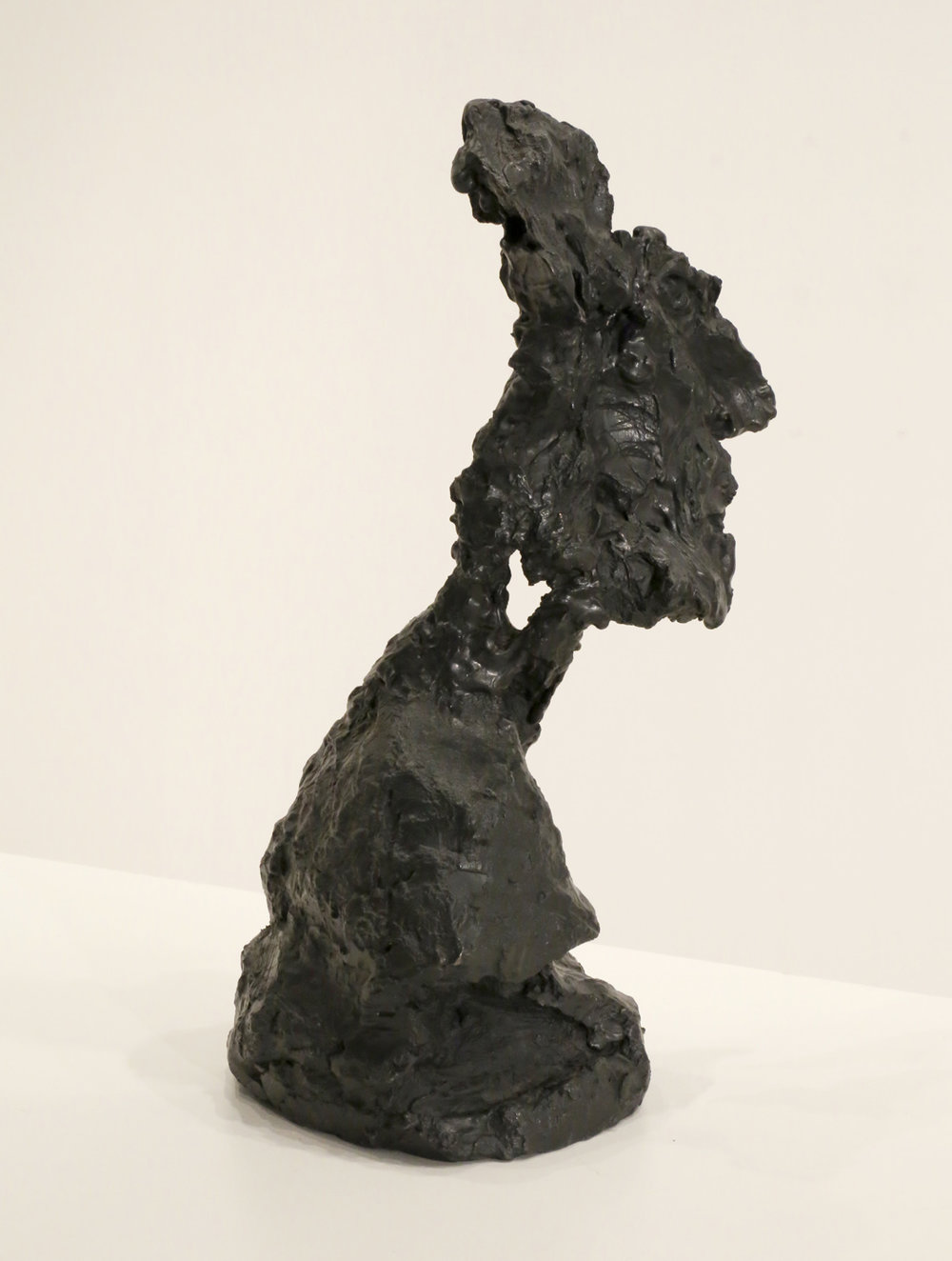 Kevin Connor   Head III , 2000  bronze, edition 5 of 5  35 x 14 x 20 cm