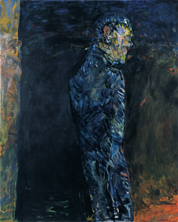 Kevin Connor   Figure in the Forever One Night,  2005-2006  oil on canvas  242 x 197 cm