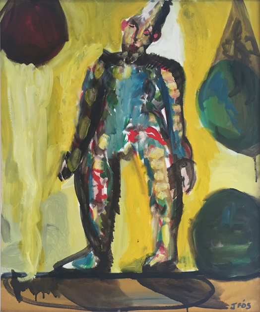 Joe Furlonger   Clown , 2005  oil on canvas  63.2 x 53.2 cm