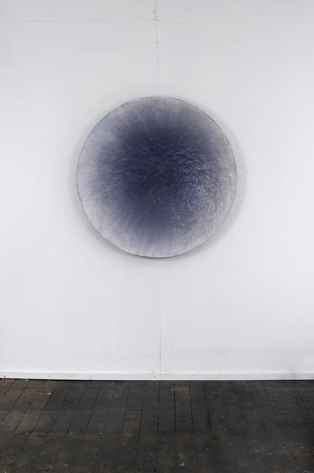 RH 255 Hakone Mountain, Japan (1747 170216) , 2016  moulded oil paint, synthetic polymer, gypsum, CSM, marble dust, wax, Tasmanian oak, marine ply and aluminium  106 x 106 x 13 cm