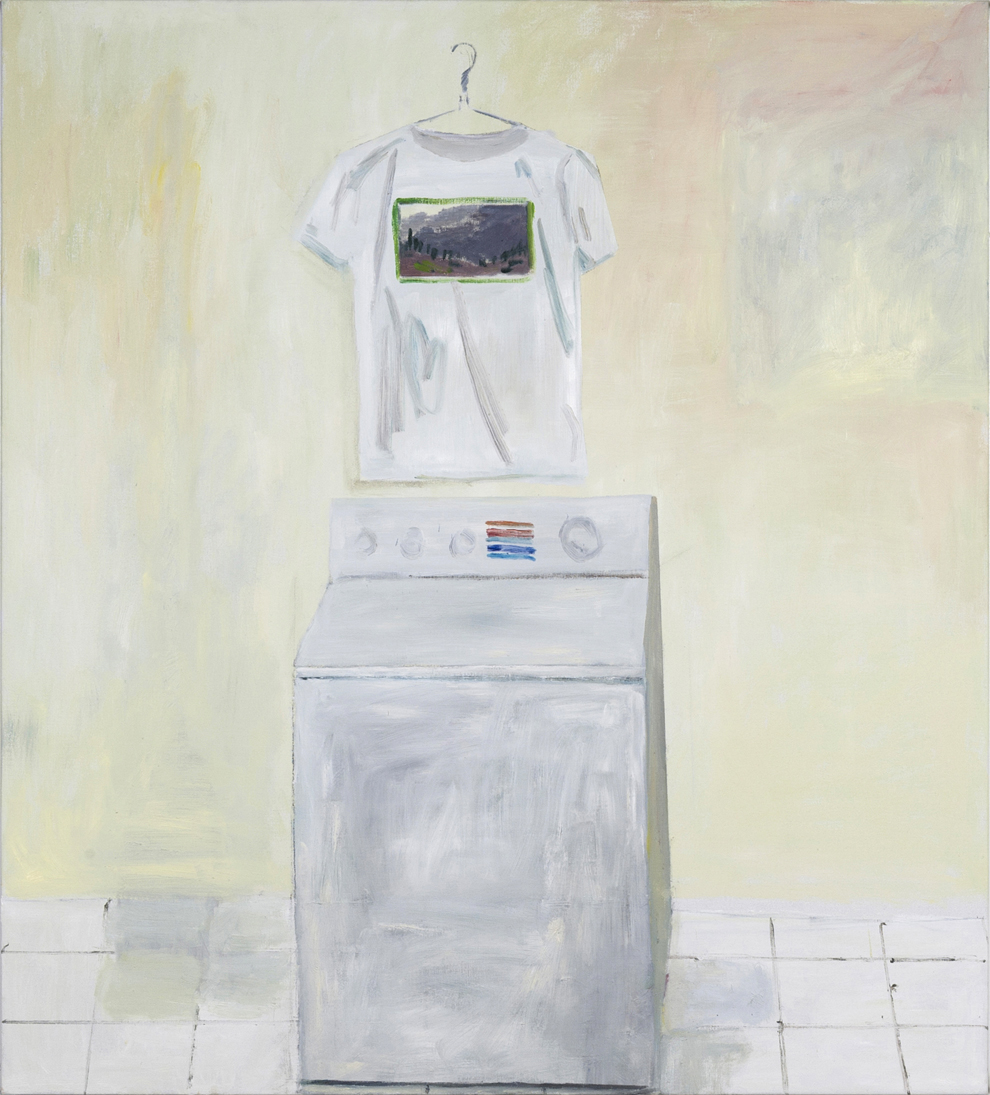 NICK COLLERSON  Something just like this , 2018 oil on linen 152.4 x 137 cm
