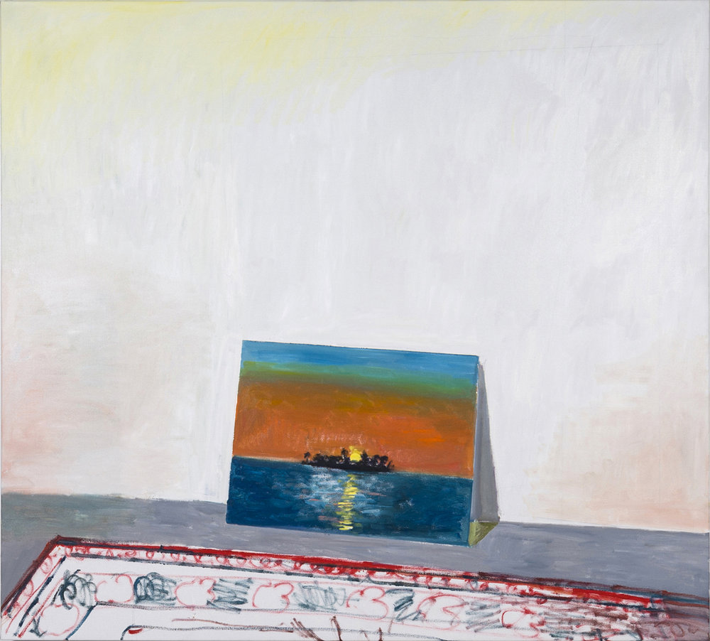 NICK COLLERSON  Unforgettable , 2018 oil on linen 137 x 152.4 cm