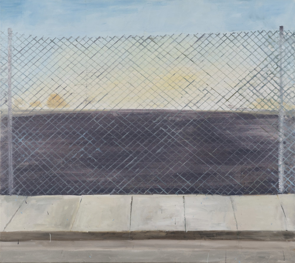 NICK COLLERSON  Late Afternoon , 2016 oil on linen 137 x 152.4 cm