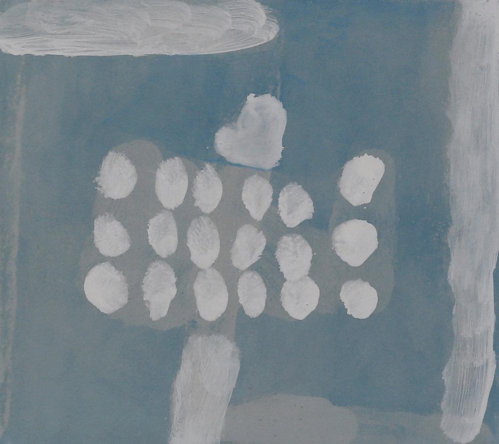 STEVEN HARVEY  Unrendered Room - Wingecarribee 3 , 2016 acrylic on compressed cement 40 x 45 cm