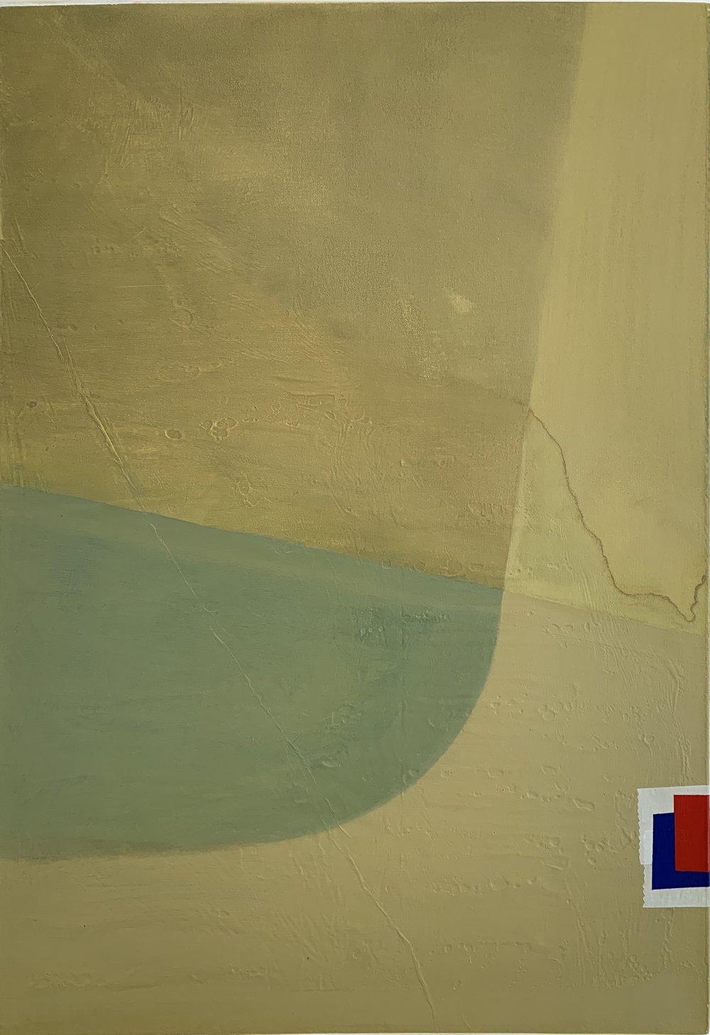 CHRIS CARMODY,  N1A1A26v.1 , 2013-2015 oil on canvas 73 x 50.5 cm