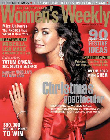 Women's Weekly - Megan Gale 2004