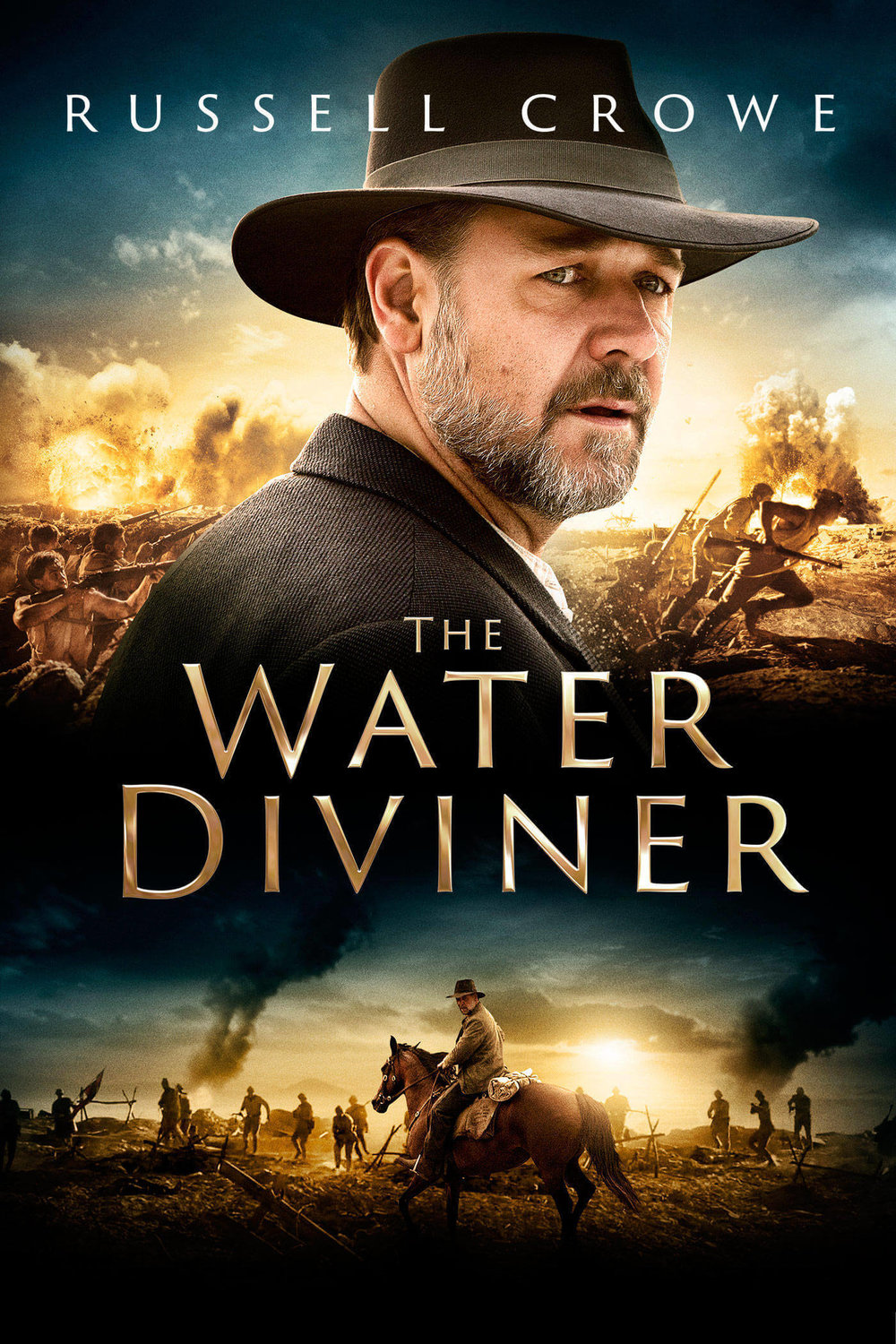 "Megan appeared as ""Fatma"" opposite Russell Crowe in his directorial debut, The Water Diviner (2014)."