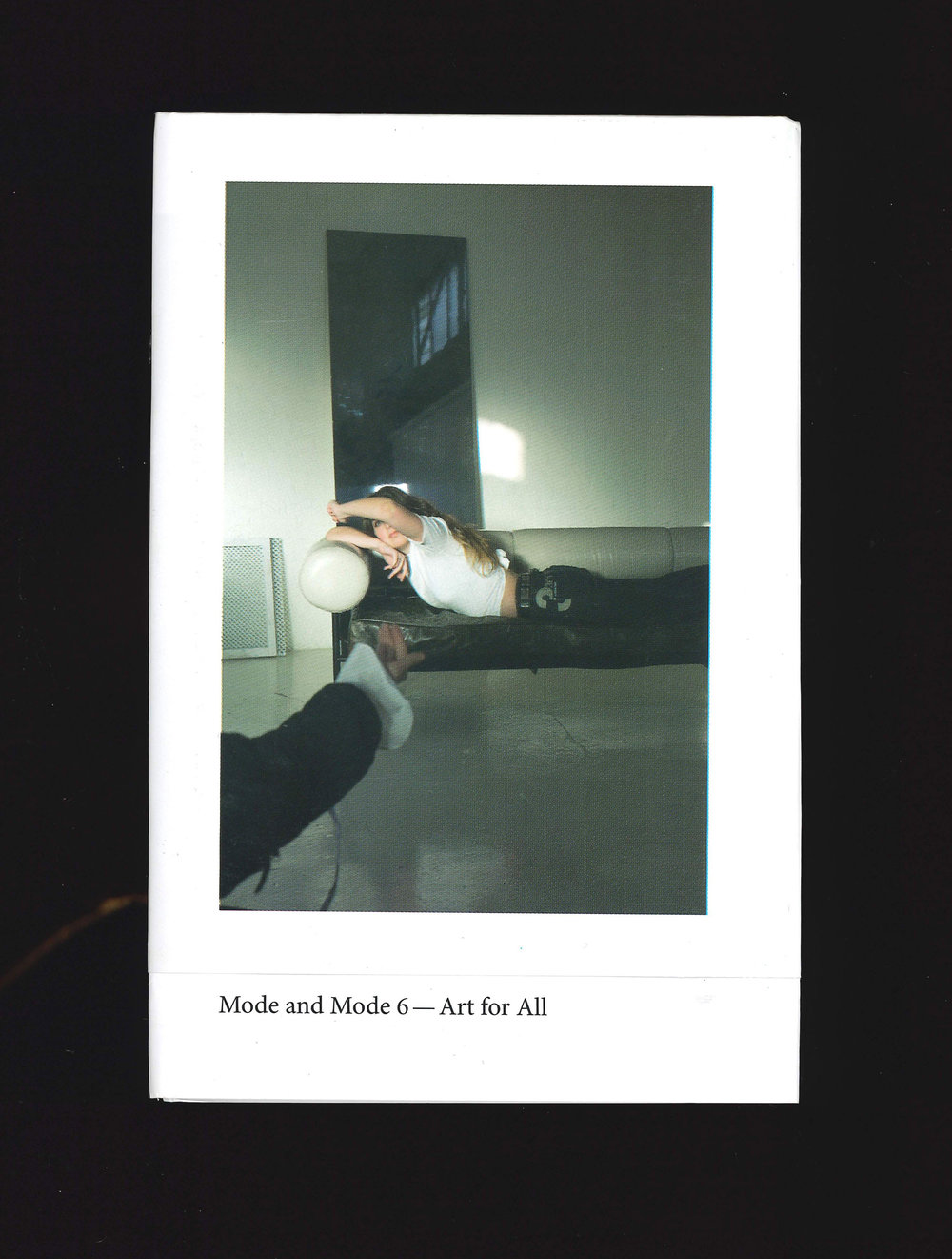 Image: Cover,  Mode and Mode  issue six,  Art for All , featuring an image by Jessie Kiely and Kate Meakin.