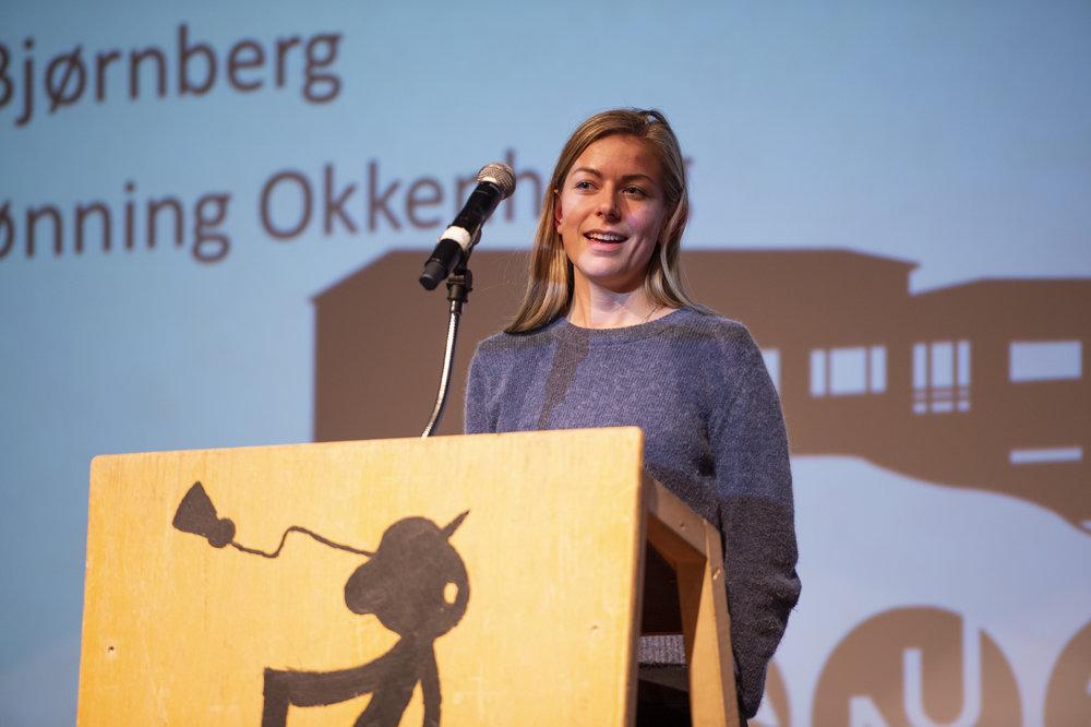 """""""Rekruteringssjef for UKA i Ås 2018. Flink til å mase på folk."""""""