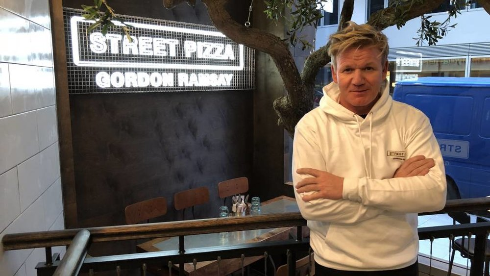 Street Pizza Gordon Ramsay:  Branding and supporting collateral