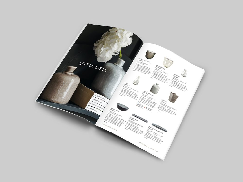 Kelly Hoppen collection directory:  148 page catalogue