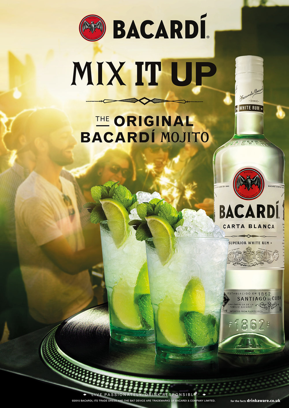 Bacardí On Trade   Art Direction   By James-Lee duffy