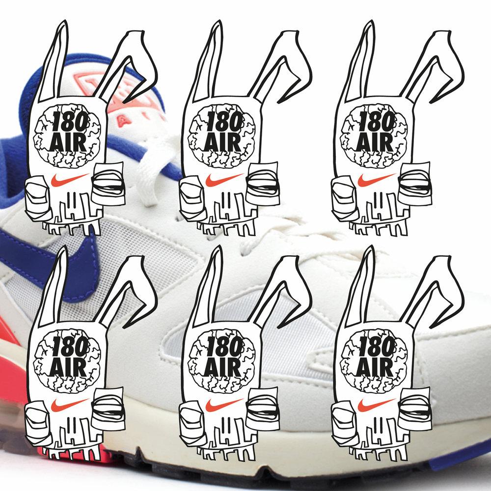 Orko | Nike | Illustration By James-Lee Duffy
