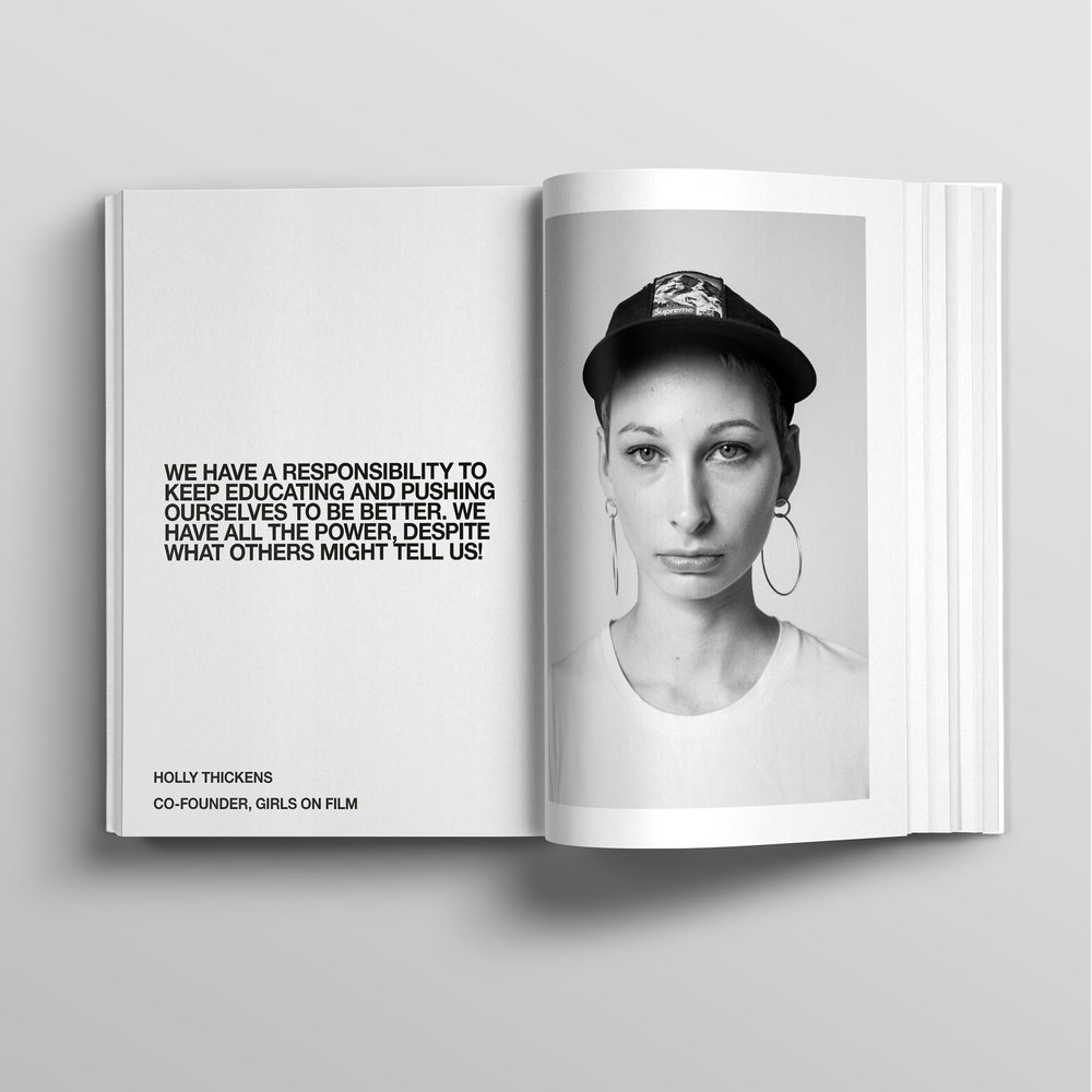 The North Face - She Moves Mountains | Art Direction | Design | By James-Lee Duffy