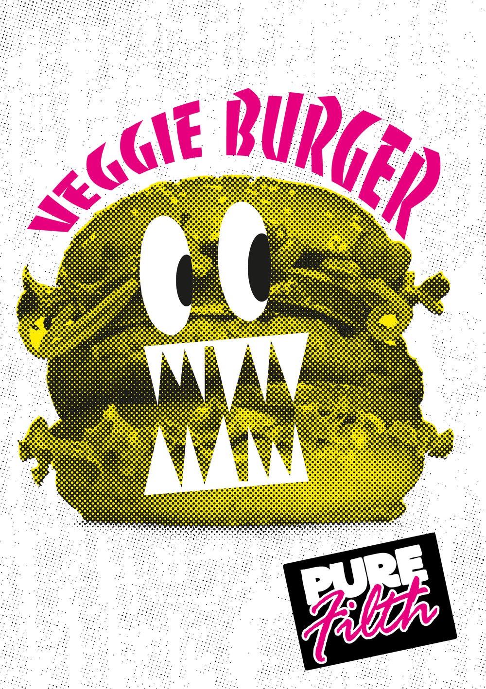 Pure Filth | Illustration | Design | By James-Lee Duffy