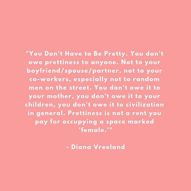 WORD! 💪🏼❤️ . . . #tingmithjertesiger #kropspositiv #levdindrøm #livetermagisk #feminisme #feminist #pretty #fuckpretty #theearthishiring #loveyourself #selvkærlighed #minegenformforkvinde #myownkindawomen #værdigselv