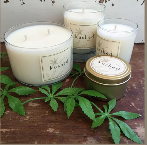 Kushed Aromatherapy Candles