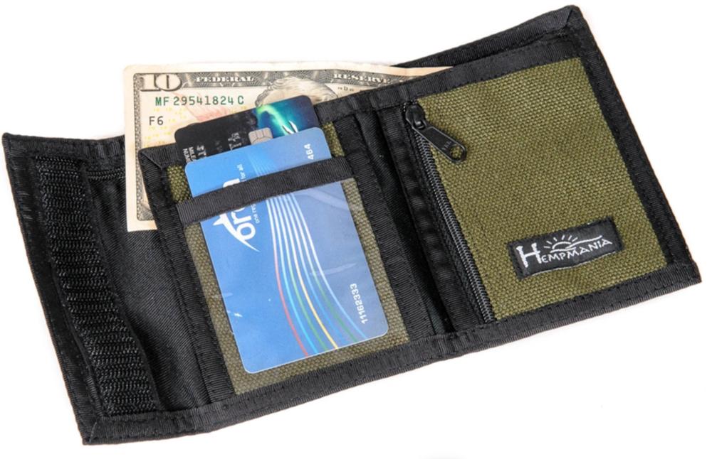 Hempmania Tri-fold Wallet