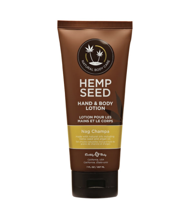 Earthly Body's Hand and Body Lotion- Nag Champa
