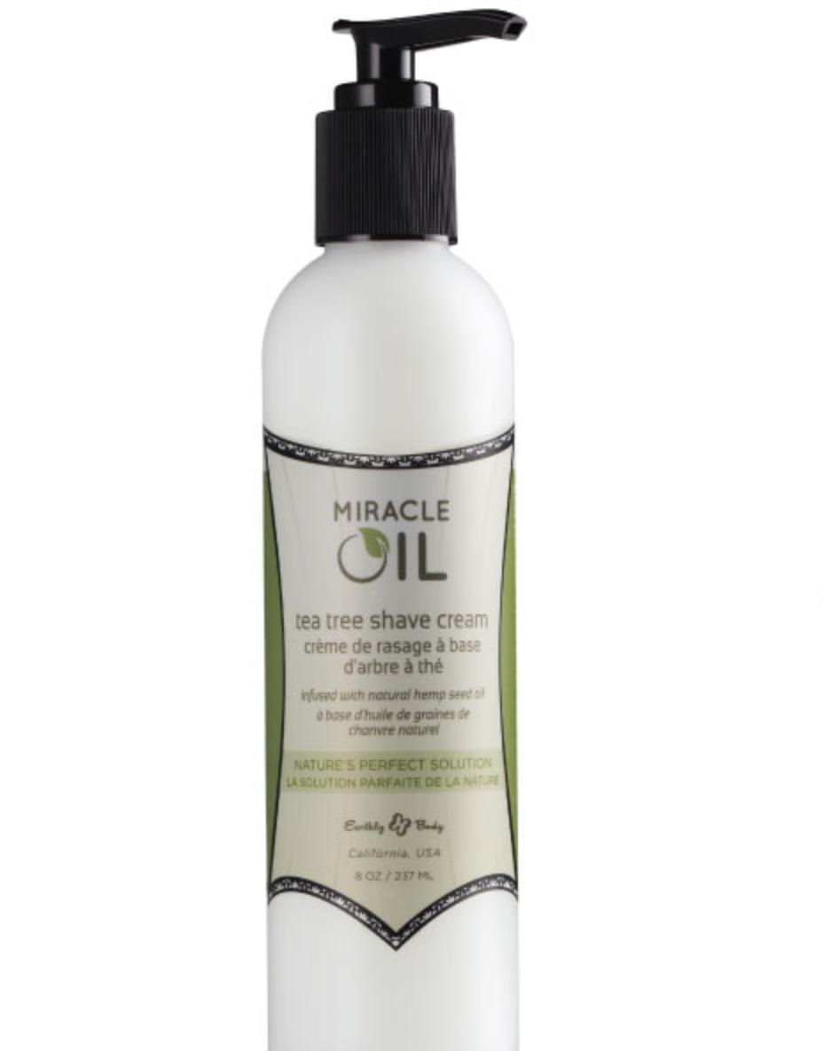 Earthy Body's Tea Tree Miracle Oil Shaving Cream