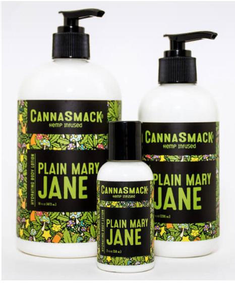 CannaSmack's Plain Mary Jane Body Lotion
