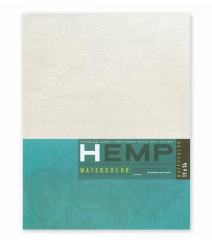 Hemp Watercolor Paper, 11x14