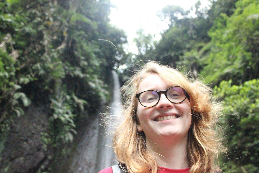 Quand t'es content parce que t'as trouvé la cascade et que les cascades c'est jouli