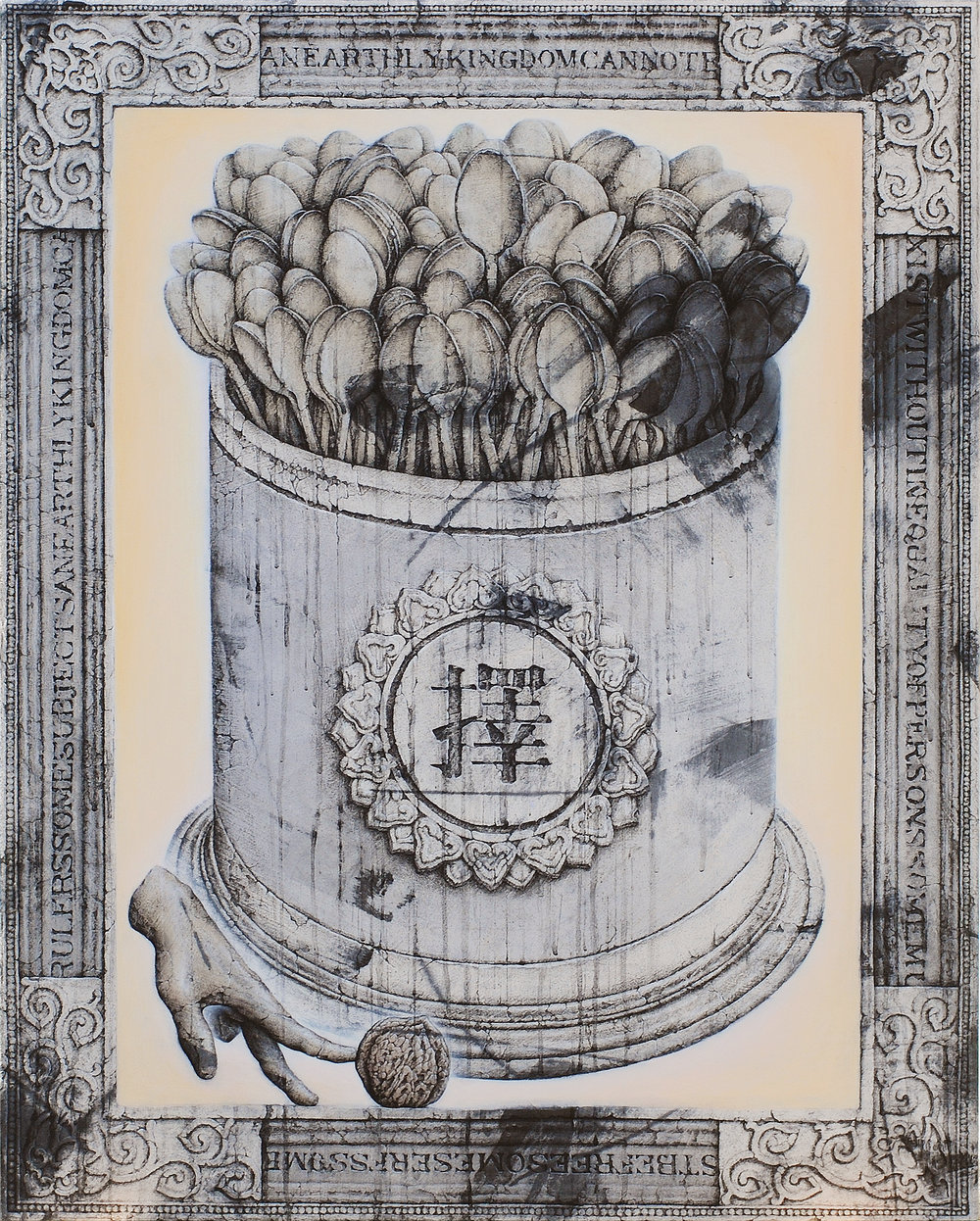 1.The Selected Still- Life(NO.1) 90X71 벽화기법, 2012 .jpg