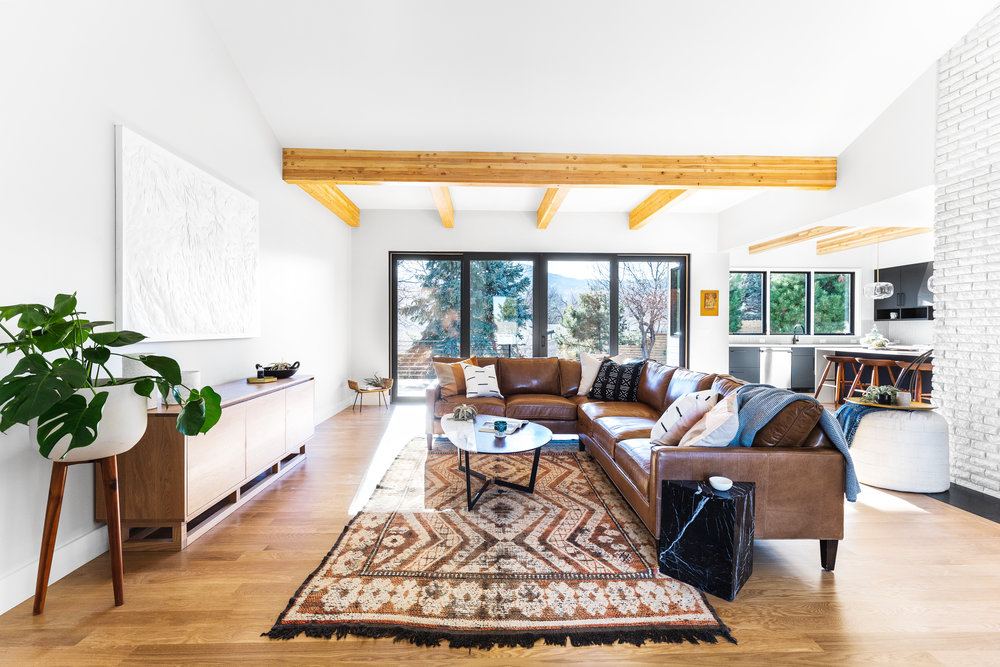2550 Balsam Dr. - A 1970s bungalow remodeled into perfection in Boulder. Listed by Zach Zeldner, Compass.4 Bed, 3 BathFor sale at $2.75 million