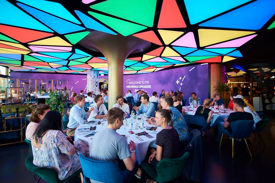 Speakers Dinner at The Reed Berlin / Lego® Serious Play® Teaser at Heureka Founders Conference / Photo:  gründerszene.de  - Vertical Media GmbH
