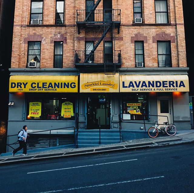 Keeping it clean! #elbarrio #eastharlem