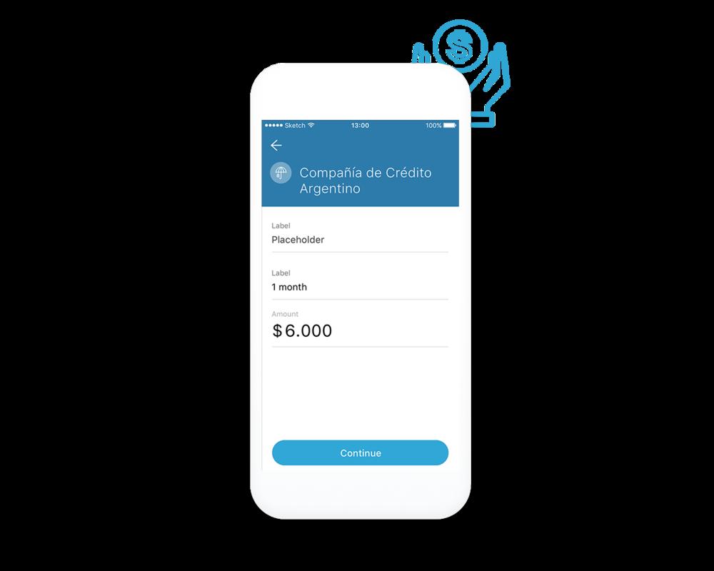Acceso a servicios financieros - Los usuarios RedCloud pueden obtener créditos y seguros a través del sistema.Las entidades financieras ofrecen financiación a través del Marketplace RedCloud.El sistema envía recordatorios sobre los pagos de cuotas.