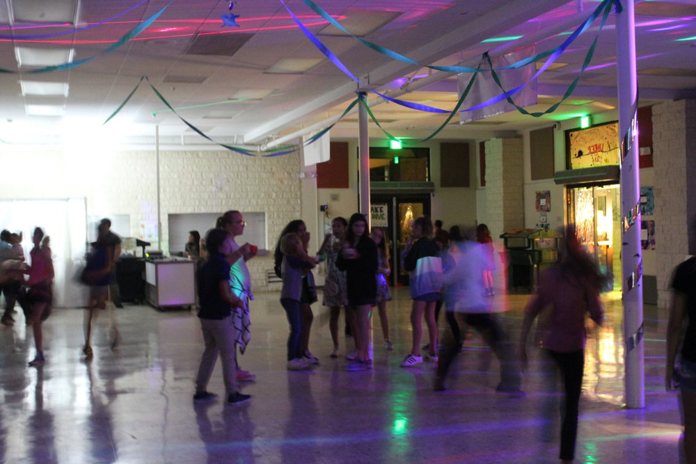 "What's the Deal With the Eighth Graders? - As I'm sure most of you guys have noticed, eighth graders do not normally come to the school dance. I wanted to know why, so I interviewed an anonymous eighth grader. They said, ""In my opinion, I think that eighth graders do not attend the school dances because they do not have interest in them and they can be very long and sometimes boring.""  ASB took that into consideration, and made the dances one hour shorter."