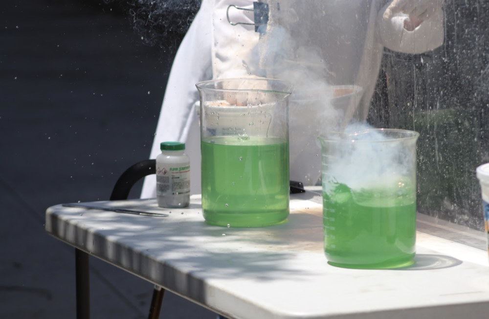 8th Grade Science! -                Story and photos by Sophie Yeung
