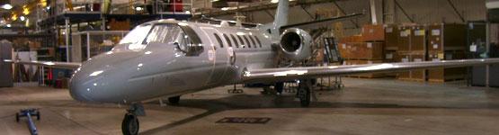 AICM plane