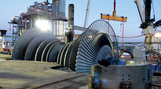 quality inspection turbine
