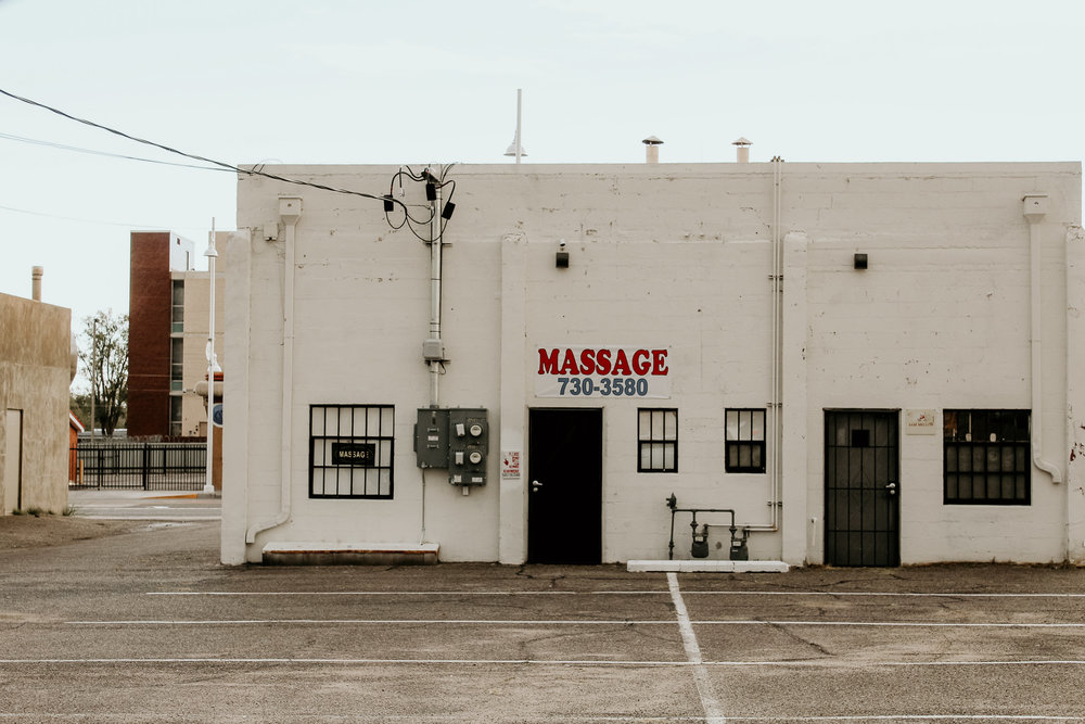 Why the back doors if it's only a massage? -