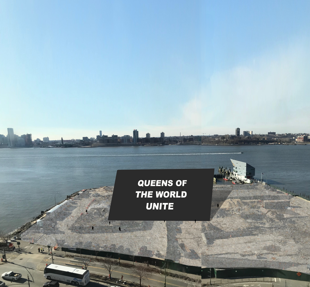 Why install a giant billboard on Pier 52? -