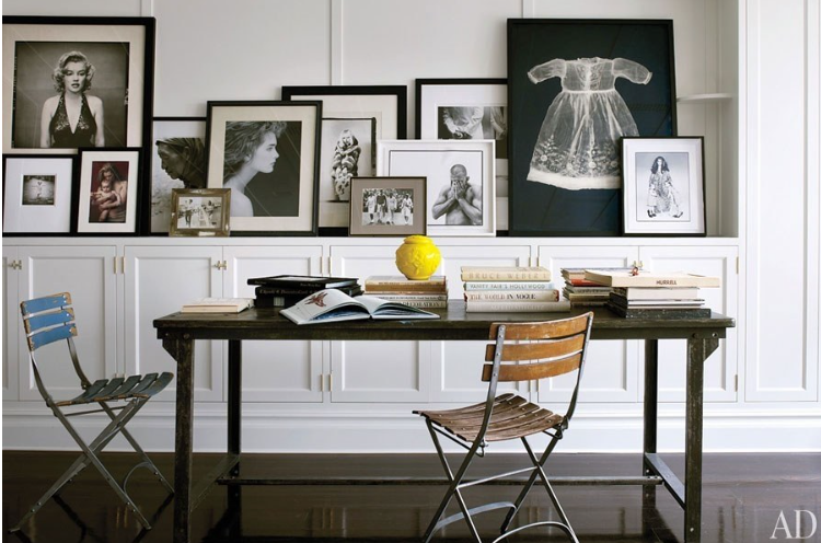 Source  Brooke Shields collaborated with decorator David Flint Wood. Photographed by William Waldron.
