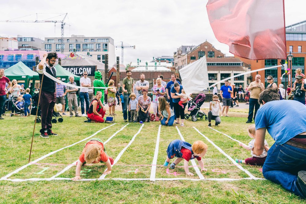 Baby Racing, Cirque Bijou Circus Playground, photo Joe Clarke photography.jpg